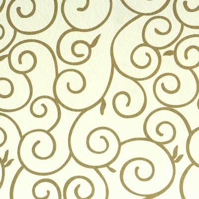 Фото картон, 220 g/m2, 50 x 69cm, 1л, старинно бял със златни арабески