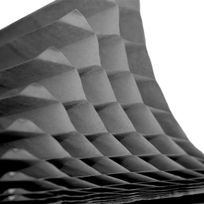 Хартия акордеон 30 слоя, 930 g/m2, 49,5 x 69 cm, 1л, черна