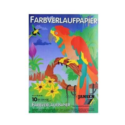 Блок варио хартия, 90 g/m2, 22,5 x 32,5, 10 л, разноцветна
