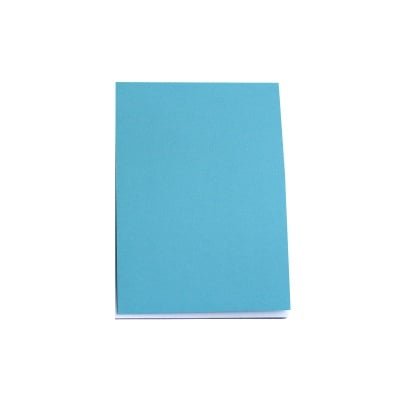 Хартия за скици, 190 g/m2, А5, 50л в син блок, бяла