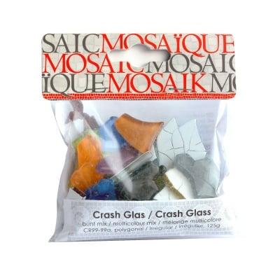 Мозаечна плочка Crash glass, стъкло, 1-3 cm, 50 бр., микс от цветове