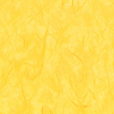 Хартия копринена с влакна, 25 g/m2, 50 x 70 cm, 1л, слънчевожълта