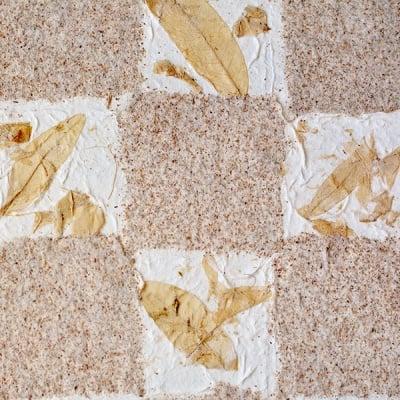 Хартия ръчна естествена, 100 g/m2, 55 x 80 cm, 1л, квадрати