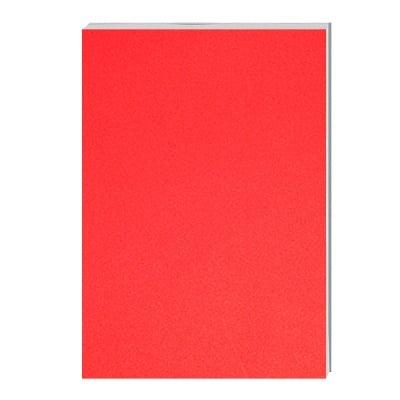 Хартия за скици, 120 g/m2, А1, 50 л. в червен блок, бяла
