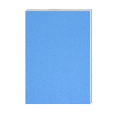 Хартия за скици, 190 g/m2, А2, 50л в син блок, бяла