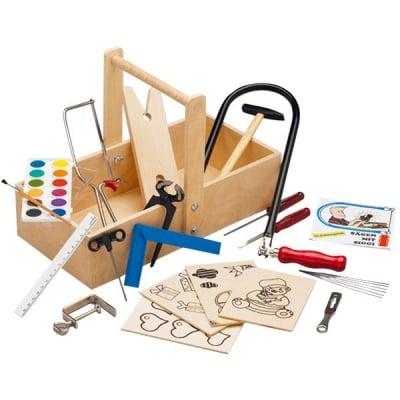 Комплект за дървообработване в дървен сандък 432 S