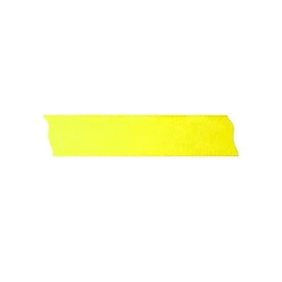 Лента декоративна UNIBAND, 25 mm, 10m, лимонено жълта