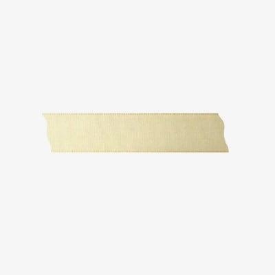 Лента декоративна UNIBAND, 25 mm, 10m, екрю