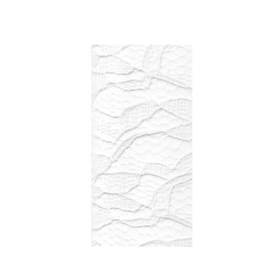 Лента дантела, 210 mm, 5 m, бяла