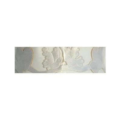 Лента самозалепяща, 18 mm, 2m, 2-сърца/2-гълъба, бяла