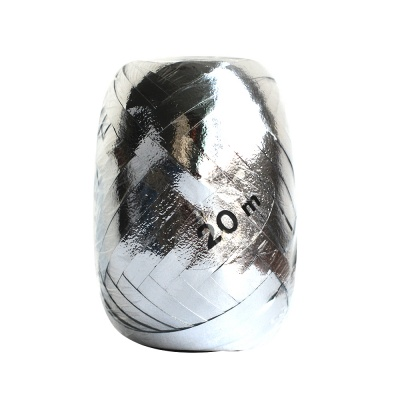 Лента полипропиленова POLYBAND, 5 mm, 20m, сребърна