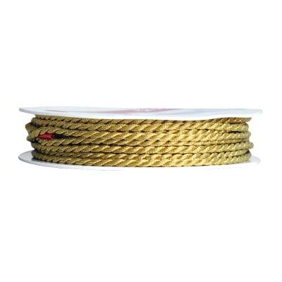 Шнур за декорация, 2.5 mm, 3 m, злато