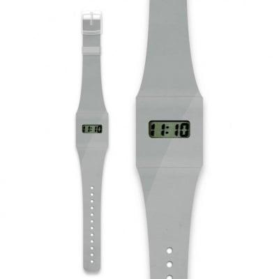 Хартиен часовник SILBER/METALIC
