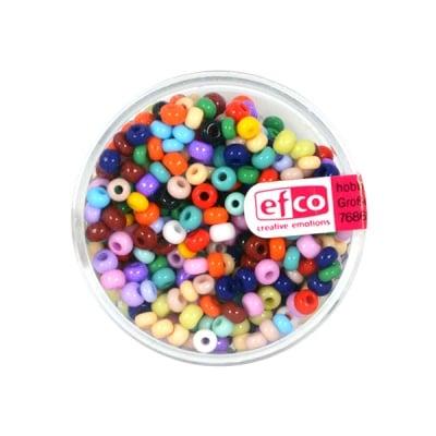 Индиански перли, непрозрачни, ф 3,5 mm, ~400 бр.