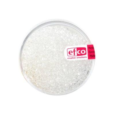 Индиански перли, прозрачни, ф 3,5 mm, ~400 бр., прозрачни