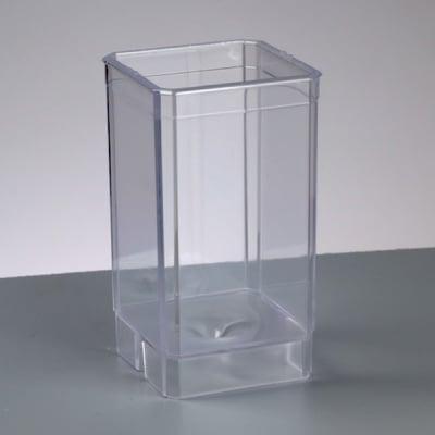 Калъп за отливане на свещ, кубовиден PS / max. 65'C, 105 x 60 x 60