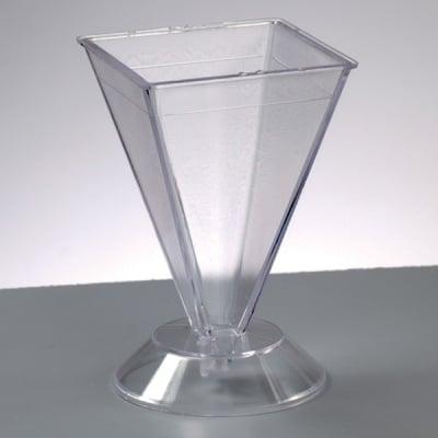 Калъп за отливане на свещ, пирамидален PS / max. 65'C, 105 x 67 x 67