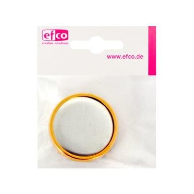 Клипс - основа за шал, кръг, ф 36 mm, позлатена