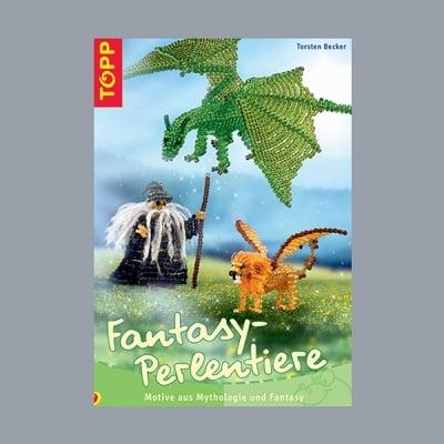Книга на немски език, Fantasy - Perlentiere, A 5, 32 страници