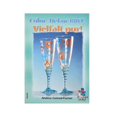 Книга с идеи Color Decor 180 'C, A5, 32 стр. на немски език