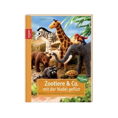 Книга техн. литература,Zootiere & Co. mit der Nadel gefilzt