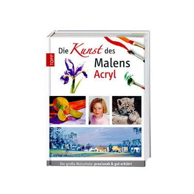 Книга техн.литература, Die Kunst des Malens Acryl