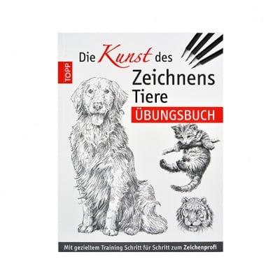 Книга техн.литература, Die Kunst des Zeichnens - Tiere Ubungsbuch