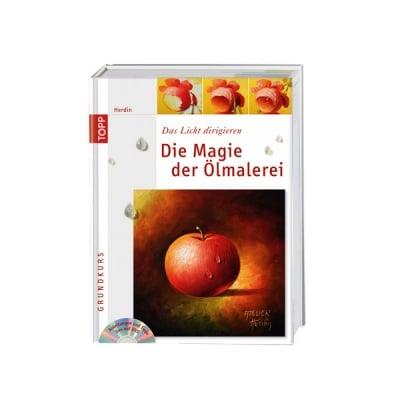 Книга техн.литература, Die Magie der Olmalerei, m. DVD