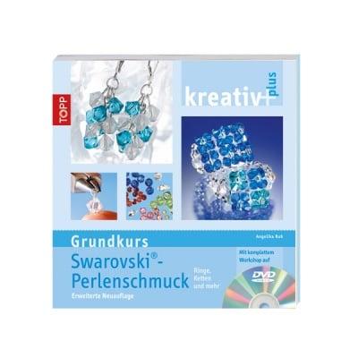 Книга техн.литература, Grundkurs Swarowski Perlenschmuck, m. DVD