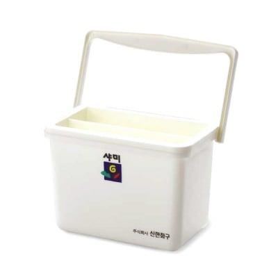 Кофичка правоъгълна за измиване на четки, SHAMI, 1200 ml