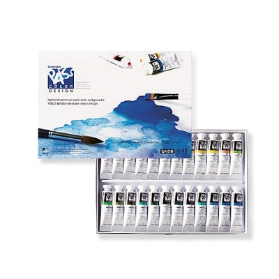 Комплект бои ARTISTS' PASS COLOR, 20 ml, 48 цв.
