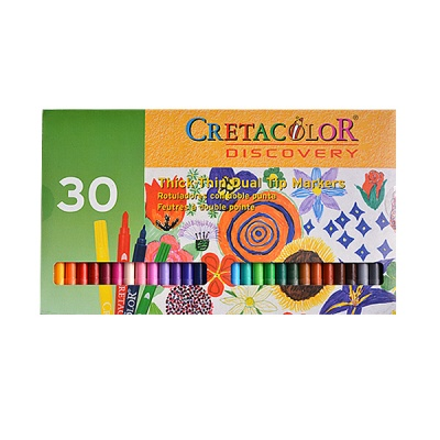 "Комплект цветни маркери Creta Color, ""Discovery"", 30 бр."