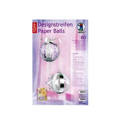 "Комплект, Designstreifen Paper Balls ""Amelie"", Papierset"