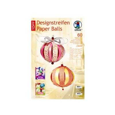 "Комплект, Designstreifen Paper Balls ""Claire"", Papierset"
