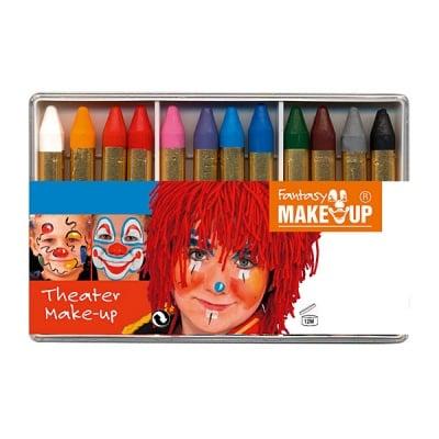 Комплект грим моливи FANTASY Make Up, 12 цвята