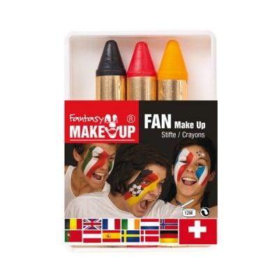 Комплект грим моливи FANTASY Make Up, 3 цвята