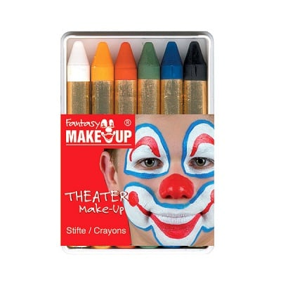 Комплект грим моливи FANTASY Make Up, 6 цвята
