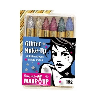 Комплект грим моливи FANTASY Make Up Glitter, 6 цвята