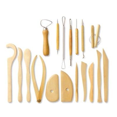 Комплект инструменти за моделиране, 18 части