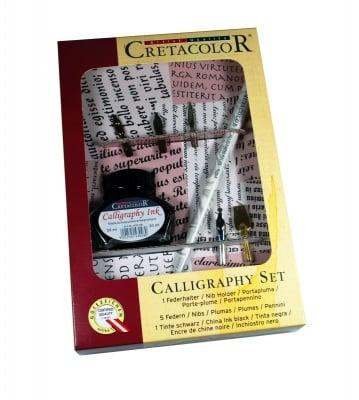 Комплект калиграфски CALLIGRAPHY 7 части, карт.кутия