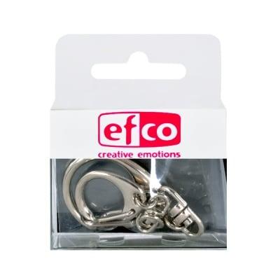 Комплект ключодържатели, 20 × 70 mm / 25 × 85 mm, 2 броя, сребристи