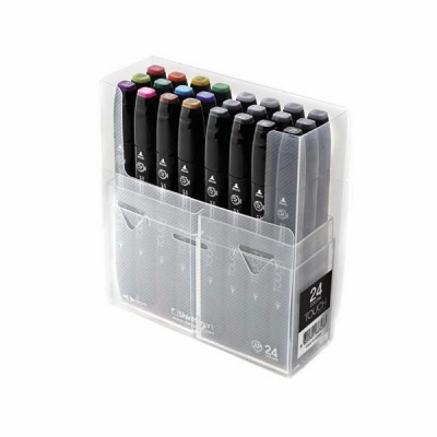 Комплект маркери TOUCH TWIN, 24 бр.