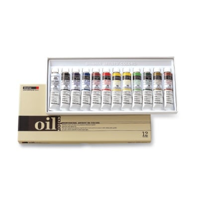 Комплект маслени бои ARTISTS' OIL, 20 ml, 12 цв.