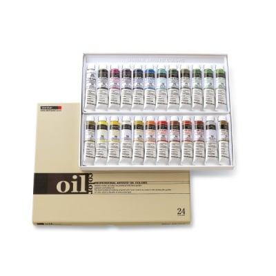 Комплект маслени бои ARTISTS' OIL, 20 ml, 24 цв.