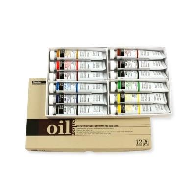 Комплект маслени бои ARTISTS' OIL, 50 ml, 12 цв., set [A]