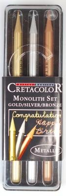 Комплект монолити металик CretaColor, MONOLITH