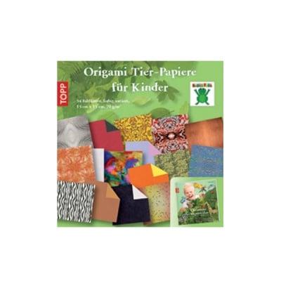 Комплект, Origami Tier-Papiere fur Kinder