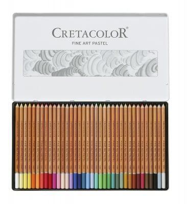 Комплект пастелни моливи CretaColor, FINE ART PASTEL, 36 цвята