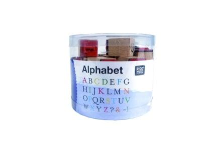 Комплект печати RicoDesign, ABC, 30 бр., 2,8 x 2 x 2 cm