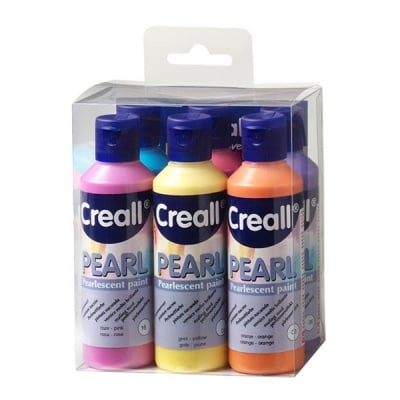 Комплект перлена боя CREALL PEARL, 6x80 ml